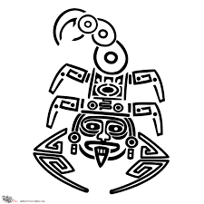 tattoo of aztec scorpion dangerous tenacious tattoo custom