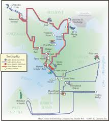 Seattle Terminal Map by Custom Cartography Kroll Map Company