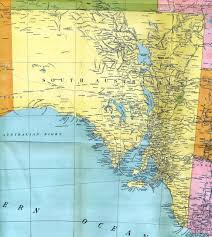 Map Of South Pacific South Australia Colony