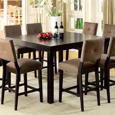 tall dining room sets dinning counter height table sets high dining table dining set bar