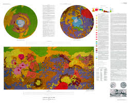 Mars Map Geologic Map Of Mars