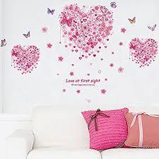 stickers geant chambre fille décoration de chambre fille chambre d enfant