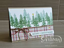plaid pines gdp067 more papercraft christmas cards and cards