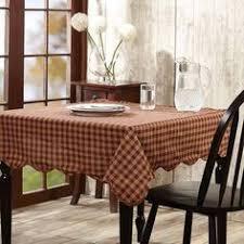farmhouse style table cloth new primitive farmhouse tan black burlap check tablecloth table