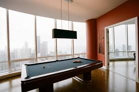 light over pool table contemporary pool table light dark wood new within modern lights