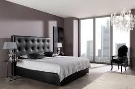deco chambre lit noir décoration de chambre 55 idées de couleur murale et tissus tête