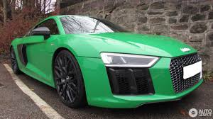 Audi R8 Green - audi r8 v10 plus 2015 3 november 2016 autogespot