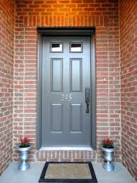 Paint Front Door Newly Painted Front Door Dragon U0027s Breath New House Numbers And