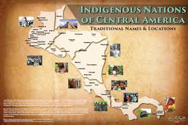 Indian Tribes North America Map by Indigenous Worldview Iiwgha