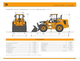 jcb 427 zx spec sheet us mar 2013 by jcb north america issuu