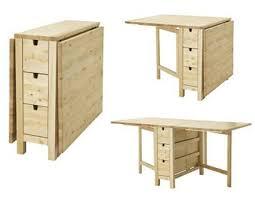 folding table with storage norden gateleg table birch perfect craft table with storage folding