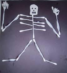 la la u0027s home daycare q tip skeleton