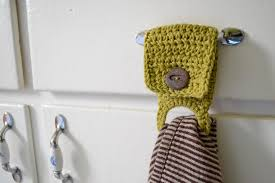 pattern crochet towel holder who wants to be martha when i can be me make tea towel holders