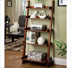 5 Shelf Ladder Bookcase by Awesome Leaning Ladder 5 Shelf Bookcase Espresso 58 With