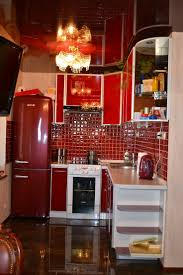 Red Kitchen Backsplash 22 Best Red Kitchens Images On Pinterest Dream Kitchens Red