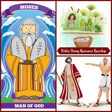 bible story resource roundup u2013 moses christian children u0027s authors