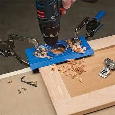 Kitchen Cabinet Hinge Template Kreg Concealed Hinge Jig