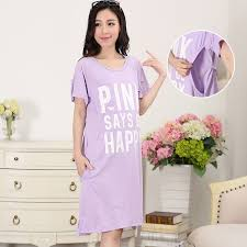 maternity nursing 2pcs sets pajama breast feeding nightwear maternity