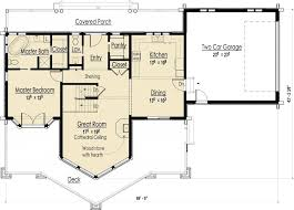 one room cottage floor plans cabin plans single room plan one bedroom with loft floor small 3