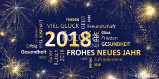frohes neues jahr 2018 guten glückwunschkarte silvester 2018 guten rutsch und ein frohes