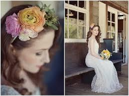 vintage wedding dress u0026 floral accessory inspiration