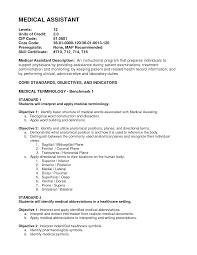 medical sales resume objective resume medical resume example resume printable medical resume example