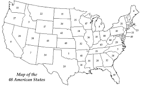 united states map with states on it united states map quiz quizzescc us with test