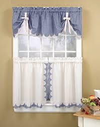 Kitchen Curtain Patterns Inspiration Kitchen Curtain Patterns Owevs