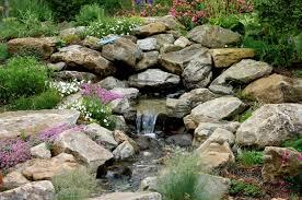Rock Garden Features Berm Rock Garden Farm