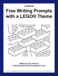 free writing prompts with a lego theme printables