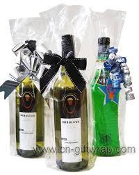 bows for wine bottles cello opp wine bag wine bottle cello bag yuyao wanji gift