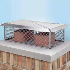 Decorative Metal Chimney Caps Tips For Security Install Stainless Steel Chimney Cap
