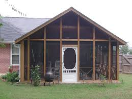 Shed Roof Screened Porch Screened Porch Plans Ideas And Photos U2014 Jbeedesigns Outdoor