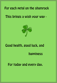 simple saint patrick u0027s day holiday greeting card sample with black