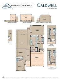 Cullen House Floor Plan by Caldwell Buffington Homes New Homes