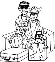 summer vacation coloring pages beach scene coloring pages kids coloring pages beach tflfna