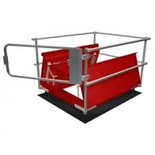 Temporary Handrail Systems Keehatch Roof Hatch Railing Osha Compliant Guardrail To Surround