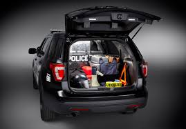 Ford Explorer Cargo Space - ford unveils explorer based 2016 police interceptor utility