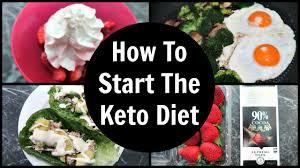 full day of eating keto how to start the ketogenic diet youtube