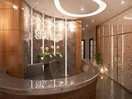 Spa Reception Desk Reception Desk Interior Design Spa Brown Pics Spa