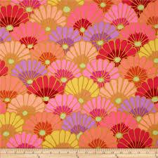 kaffe fassett home decor fabric kaffe fassett collective thousand flowers pink discount designer