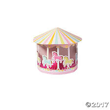 carousel baby shower baby shower centerpiece