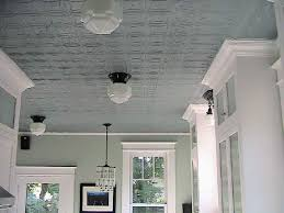 Tin Ceiling Lights Light Grey Pressed Tin Ceiling With White Trim Mars Bedroom