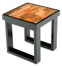 Natural Wood End Tables Side Table Modern Wood Side Table Solid Tables Bedside Tray