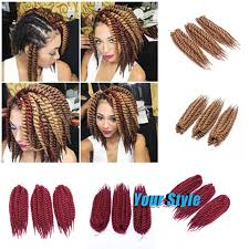 crochet braiding hair for sale 12 85g havana mambo twist crochet braids hair synthetic crochet