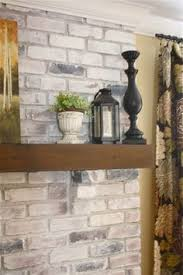 Fireplace Brick Stain by White Washed Brick Fireplace Tutorial Wish I U0027d Seen This 15