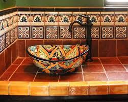 mexican bathroom ideas fancy mexican tile bathroom ideas 25 in home design ideas for