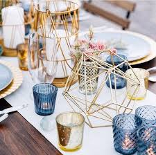wedding table decor the navy blue and gold wedding ideas hotref party gifts