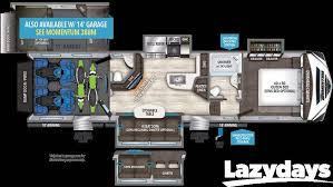 Fleetwood 5th Wheel Floor Plans Search Rvs Motorhomes U0026 Travel Trailers For Sale Lazydays