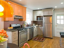 Design Ideas For A Small Kitchen by Red Kitchen Cabinets Pictures Ideas U0026 Tips From Hgtv Hgtv